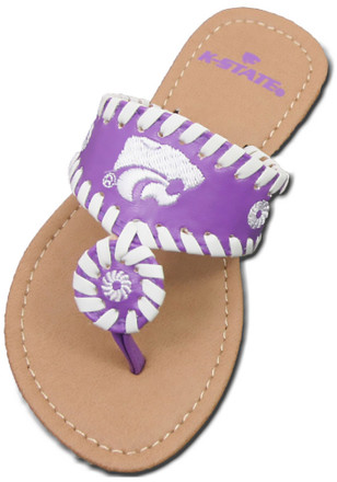 K-State Wildcats High End Slippers
