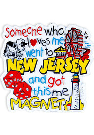 New Jersey Someone Loves Me Magnet