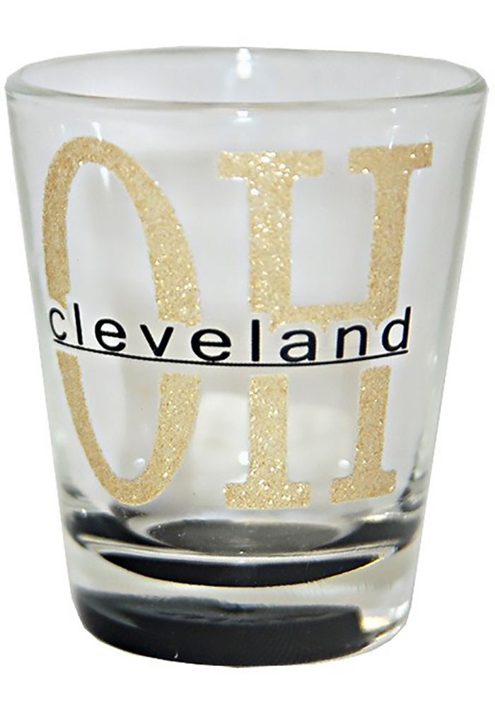 Cleveland Frosted Shot Glass - Image 1