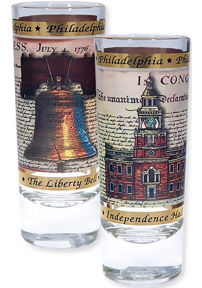 Philadelphia Congress Shot Glass - Image 1