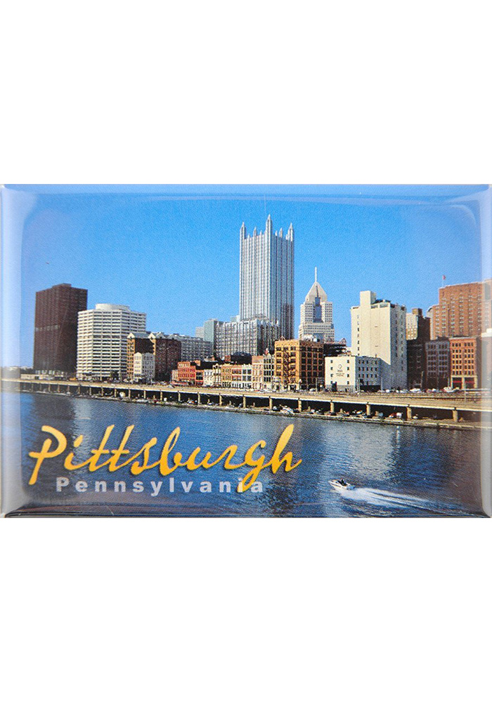 Pittsburgh Skyline Magnet - Image 1