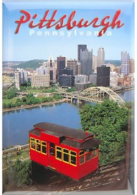 Pittsburgh Skyline Magnet