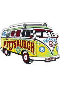 Pittsburgh VW Beetle Magnet