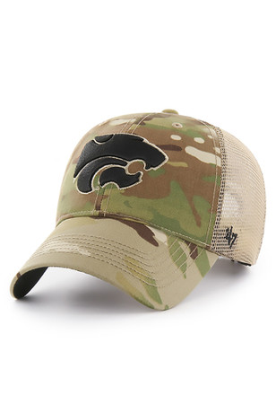 '47 K-State Wildcats Mens Green Thompson MVP Adjustable Hat