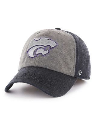 K-State Wildcats '47 Mens Black Encoder Franchise Fitted Hat