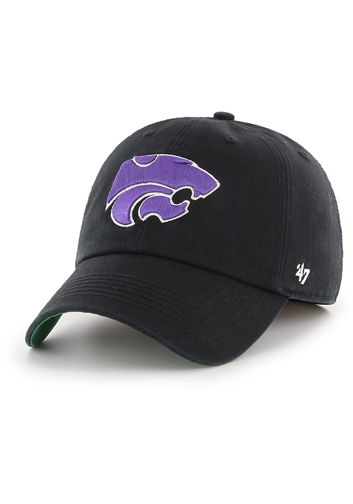 '47 K-State Wildcats Mens Black Franchise Fitted Hat - Image 1