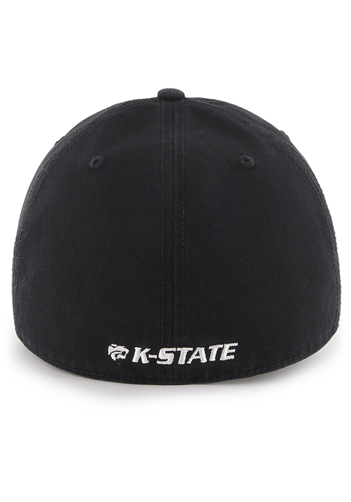 '47 K-State Wildcats Mens Black Franchise Fitted Hat - Image 2