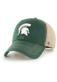 47 Michigan State Spartans Trawler Clean Up Adjustable Hat - Green