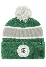 47 Michigan State Spartans Green Noreaster Cuff Knit Hat