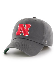 Nebraska Cornhuskers 47 Charcoal Franchise Fitted Hat
