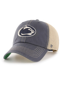 47 Penn State Nittany Lions Trawler Clean Up Adjustable Hat - Navy Blue