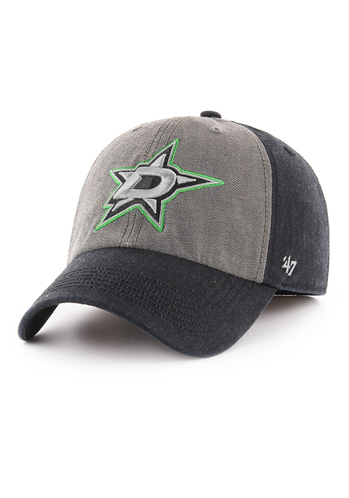 47 Dallas Stars Mens Black Encoder Franchise Fitted Hat - Image 1