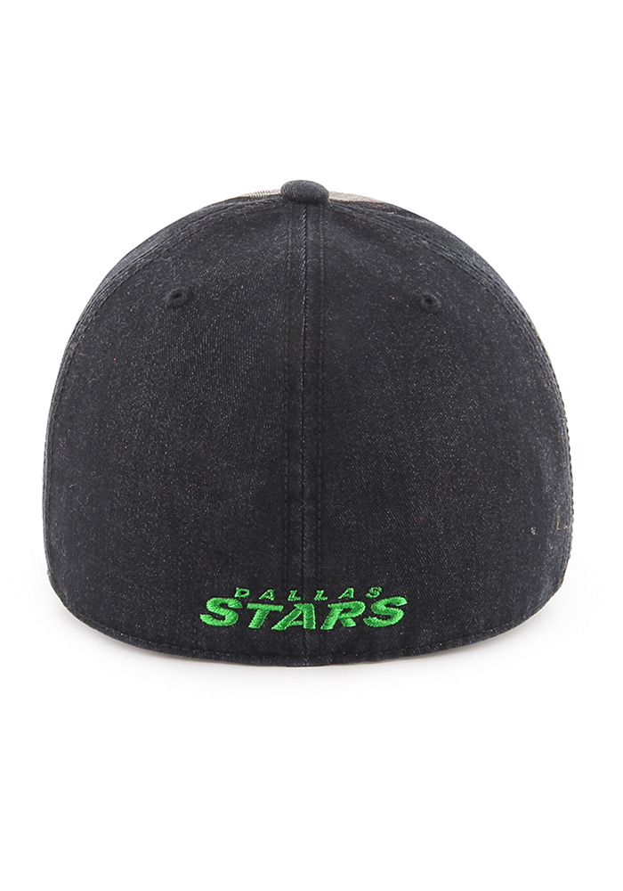 47 Dallas Stars Mens Black Encoder Franchise Fitted Hat - Image 2
