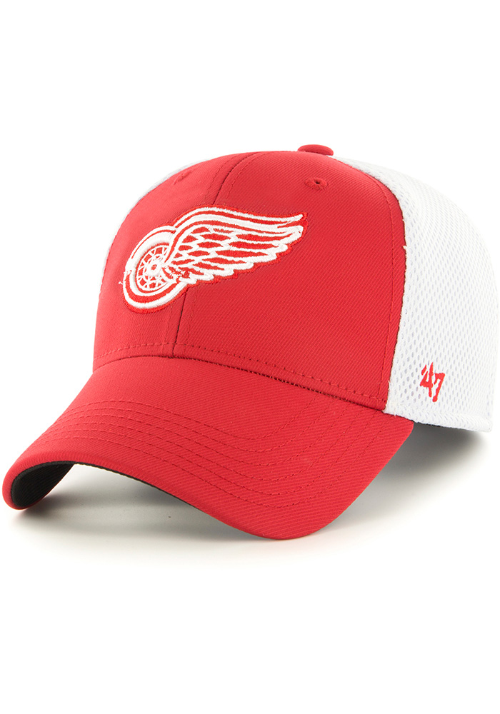 Detroit Red Wings 47 Back Pedal Flex Hat - Red
