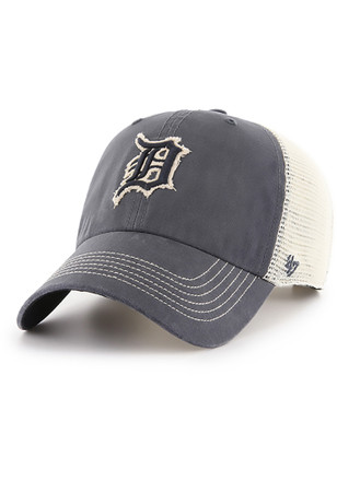 '47 Detroit Tigers Mens Navy Blue Springfield Clean Up Adjustable Hat