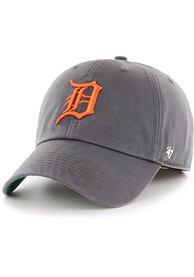 Detroit Tigers 47 Charcoal Franchise Fitted Hat
