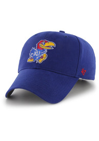 Kansas Jayhawks Blue Basic Youth Adjustable Hat