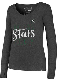 47 Dallas Stars Womens Black Forward Athleisure Tee