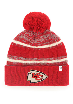 '47 Kansas City Chiefs Red Fairfax Knit Hat