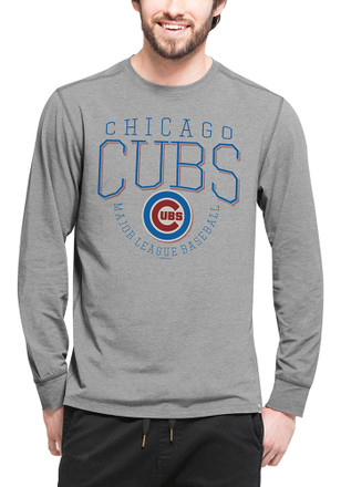 '47 Chicago Cubs Mens Grey Cadence Fashion Tee