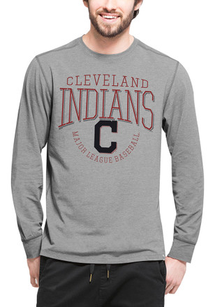 '47 Cleveland Indians Mens Grey Cadence Fashion Tee
