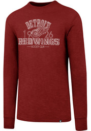 47 Detroit Red Wings Red Scrum Long Sleeve Fashion T Shirt