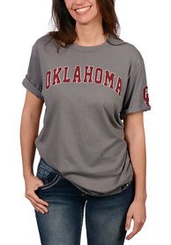 47 Oklahoma Sooners Grey Arch Fashion Tee