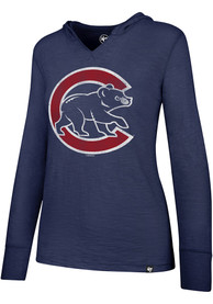 47 Chicago Cubs Womens Blue Primetime Hoodie