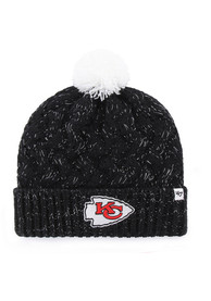 47 Kansas City Chiefs Womens Black Fiona Cuff Knit Hat