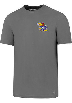 '47 Kansas Jayhawks Mens Grey Backer Tee
