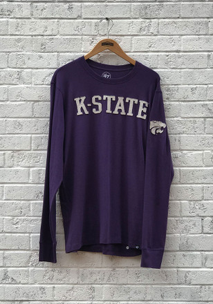 '47 K-State Wildcats Mens Purple Fieldhouse Fashion Tee