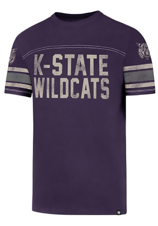 '47 K-State Wildcats Mens Purple Title Fashion Tee