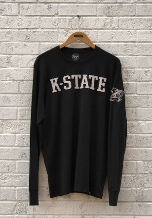 '47 K-State Wildcats Mens Black Fieldhouse Fashion Tee