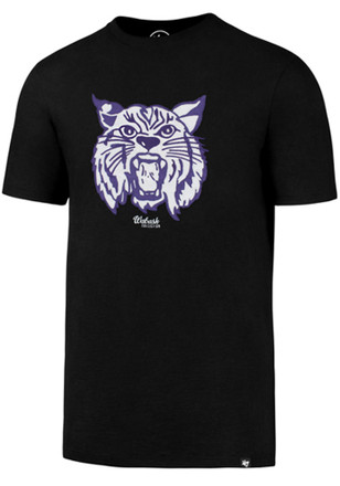 '47 K-State Wildcats Mens Black Knockout Fieldhouse Fashion Tee