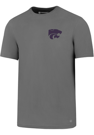 '47 K-State Wildcats Mens Grey Backer Tee