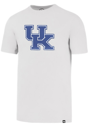 '47 Kentucky Wildcats Mens White Knockout Fieldhouse Fashion Tee