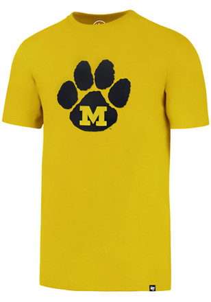 '47 Missouri Tigers Mens Gold Knockout Fieldhouse Fashion Tee