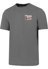 47 Oklahoma Sooners Grey Backer Tee