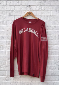 Oklahoma Sooners 47 Fieldhouse Fashion T Shirt - Crimson