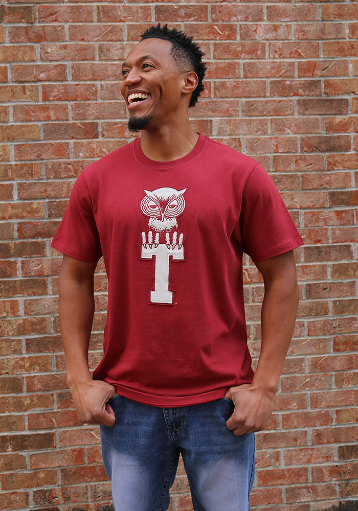 47 Temple Owls Cardinal Knockout Fieldhouse Short Sleeve Fashion T Shirt - Image 2