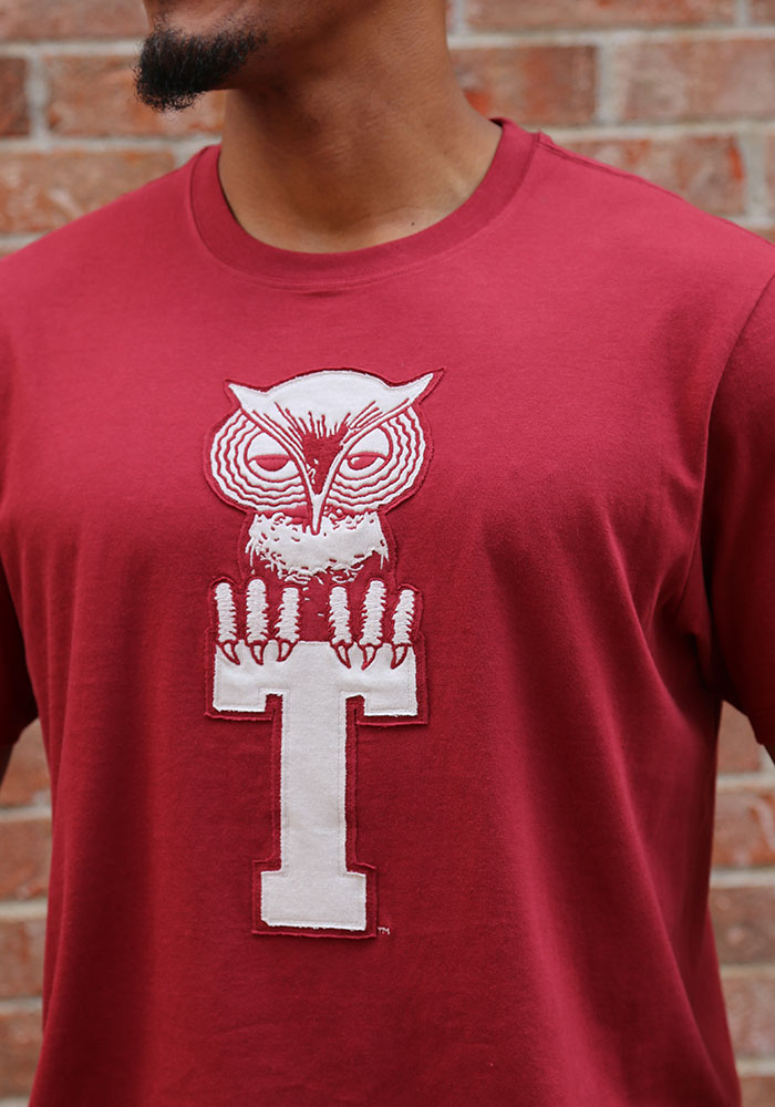 47 Temple Owls Cardinal Knockout Fieldhouse Short Sleeve Fashion T Shirt - Image 3