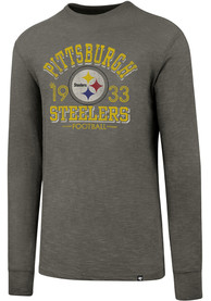 47 Pittsburgh Steelers Grey Number One Fashion Tee