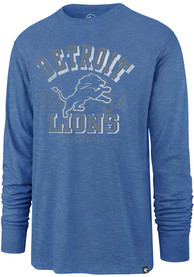 47 Detroit Lions Blue Number One Fashion Tee