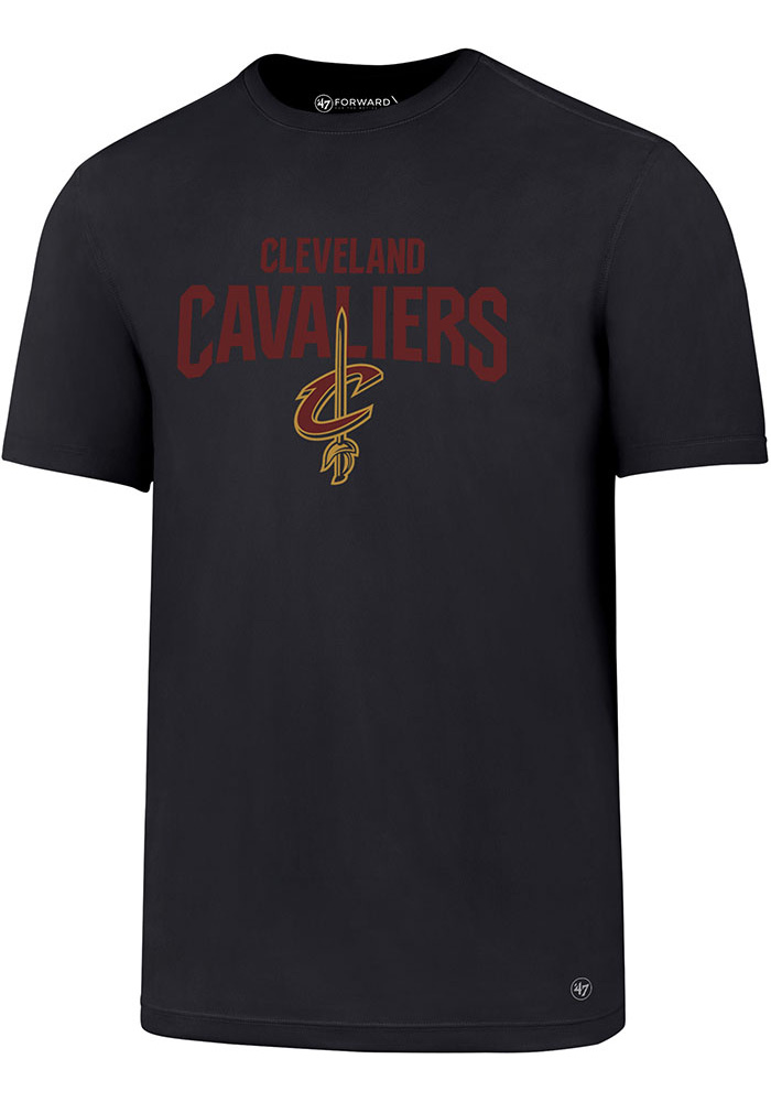 '47 Cleveland Cavaliers Mens Navy Blue Forward Sport Short Sleeve T Shirt - Image 1