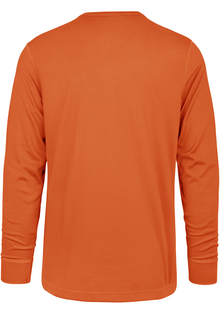 47 Cincinnati Bengals Orange Forward Microlite Long Sleeve T-Shirt - Image 2