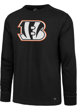 '47 Cincinnati Bengals Mens Black Forward Microlite Tee