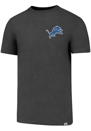 '47 Detroit Lions Mens Grey SS Athleisure Forward Gravity Tee Tee