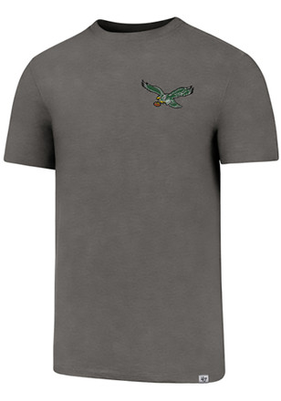 '47 Philadelphia Eagles Mens Grey SS Athleisure Forward Gravity Tee Tee