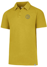 Pittsburgh Steelers 47 Forward Gravity Polo Shirt - Grey