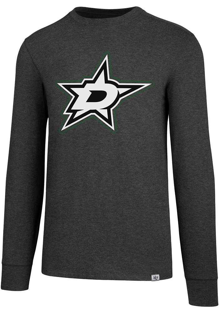 47 Dallas Stars Grey Forward Gravity Long Sleeve T-Shirt - Image 1